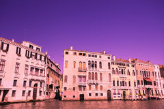 Building and canal in Venice, Italy Stock Images