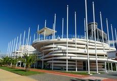 Building of casino and night club in Batumi, Georgia Stock Images