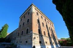 Building at Castel San Pietro in Verona, Italy Stock Image