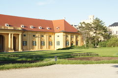 Building in castle park Lednice Chateau,Czech republic Royalty Free Stock Photo