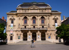 The building of Celestins theater in Lyon, France Royalty Free Stock Photography