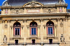 The building of Celestins theater in Lyon, France Royalty Free Stock Image