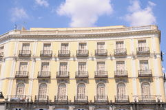 Building in the center of Madrid, Spain Stock Photography