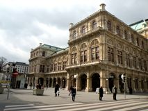 Building in the central area of Vienna Royalty Free Stock Image
