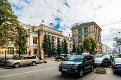 The building of the Central Bank of Russian Federation Royalty Free Stock Photos