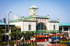 Building of Central pier in september 2013 in Hong Kong. Stock Photography