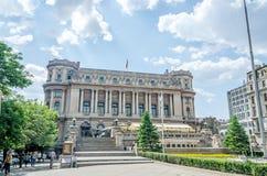 The Building Cercul Militar National. Royalty Free Stock Photos