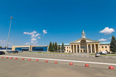 The building of Chelyabinsk Airport Royalty Free Stock Image