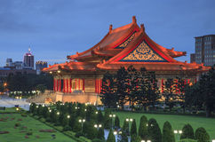 The building of Chiang Kai shek Memorial Hall Stock Photo