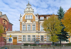 Building of the Children's Music School in Chernyakhovsk, Russia Royalty Free Stock Image