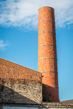 Building with a chimney. In Berlin, Germany Royalty Free Stock Photo
