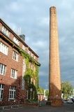 Building and chimney in Potsdam Germany Royalty Free Stock Image