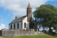 Building, Church, Mouswald, Dumfriesshire Royalty Free Stock Photos