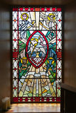 Building, Church, Stained Glass Window Royalty Free Stock Image
