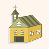 Building church theme elements,eps Stock Images
