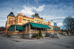 The building Cirkus Stockholm in Sweden Royalty Free Stock Photography