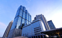 Building in city. Building in the heart of city, Cityscape in the central Bangkok Thailand royalty free stock photography