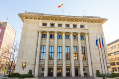 The building of the city administration of Bourgas, Bulgaria Stock Images