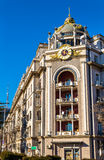 Building in the city centre of Tbilisi Royalty Free Stock Image
