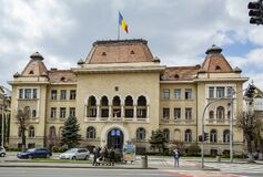 Building of City Hall in Targu-Mures.