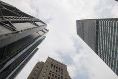 Building city. High building city landmark modern tower Stock Photo