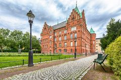 Building of city library in Malmo, Sweden Royalty Free Stock Photography