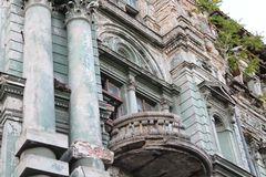 Building in the city of Odessa with beautiful architecture stock image
