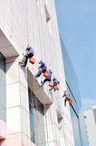 Building cleaning Royalty Free Stock Image