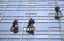 Building Cleaning,Dustman Stock Images