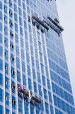 Building Cleaning,Dustman Royalty Free Stock Image