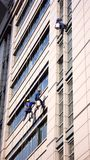 Building Cleaning in Shanghai Royalty Free Stock Photo