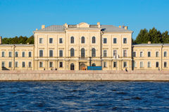 Building of Clinical Military Hospital in St. Petersburg Royalty Free Stock Image