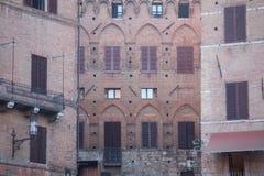 Building closeup, Siena, Italy Stock Image