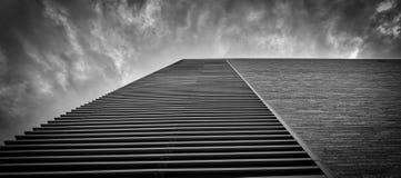 Building Clouds, Austin TX stock image