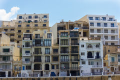 Building on the coasts Stock Image
