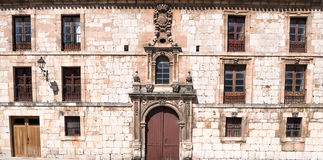 Building with coat of arms Royalty Free Stock Photos