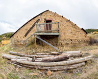 Building in Colorado gold mining town Royalty Free Stock Photo