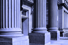 Building Columns Stock Photography