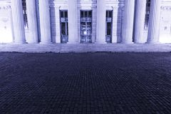 Building with columns Royalty Free Stock Photos