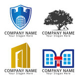 Building Concept Logo Stock Image