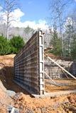 Building Concrete Foundation stock photos