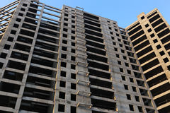 Building Concrete Structure Stock Photography