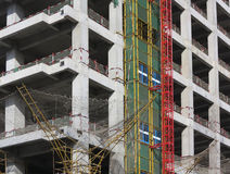 Building Concrete Structure Royalty Free Stock Image