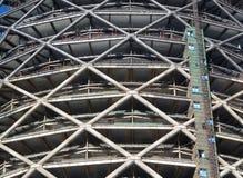 Building Concrete Structure Stock Photo