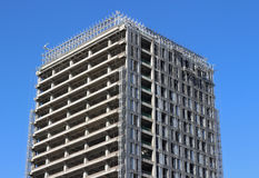Building Concrete Structure Royalty Free Stock Photos