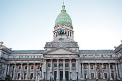 Building of Congress  in Buenos Aires Stock Photography