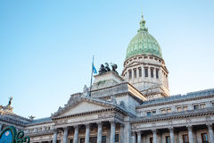 Building of Congress in Buenos Aires. Argentina stock photography