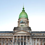 Building of Congress in Buenos Aires, Royalty Free Stock Images