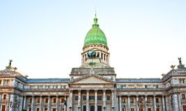 Building of Congress in Buenos Aires, Stock Image