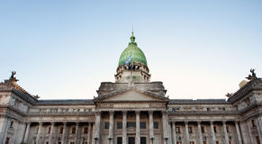 Building of Congress in Buenos Aires, Royalty Free Stock Photography